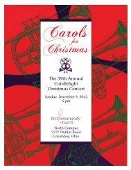 Carols - First Community Church