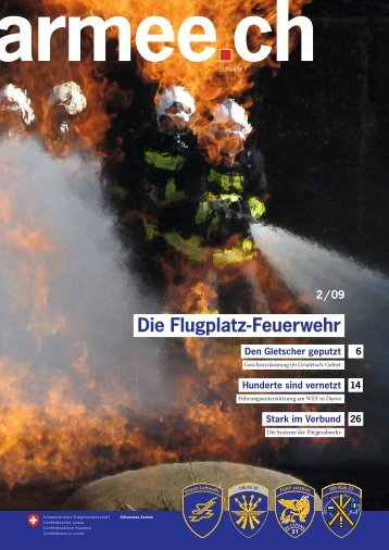 2 / 09 Die Flugplatz-Feuerwehr - Schweizer Luftwaffe - admin.ch