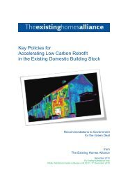 Key Policies for Accelerating Low Carbon Retrofit in the ... - WWF UK