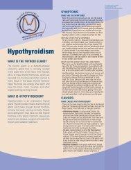 Hypothyroidism - American Thyroid Association