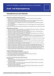 fragenkatalog ab 2009.indd - Städtebau