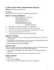 Discussion Questions Islamic Spain Unit