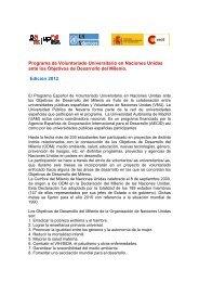Convocatoria 2012 - Universidad Pública de Navarra