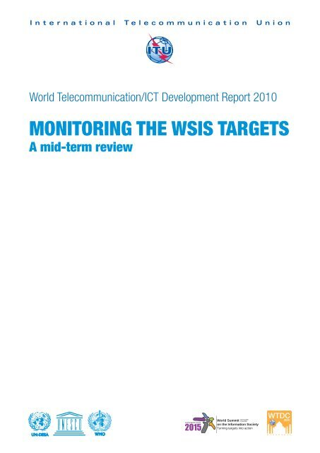 Monitoring The Wsis Targets