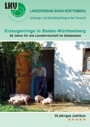 50 Jahre Erzeugerringe - Landesverband Baden-Württemberg für ...