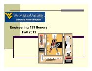 Engineering 199 Honors Fall 2011 - CEMR