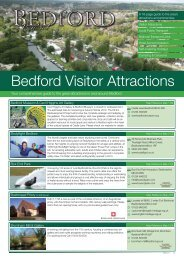 Bedford Visitor Attractions