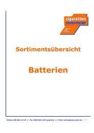 WG 80 Batterien