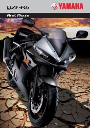 YZF-R6 - Yamaha Miskolc