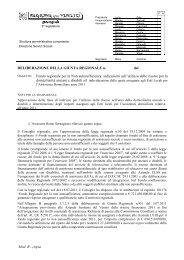 Mod. B - copia DELIBERAZIONE DELLA GIUNTA REGIONALE n ...