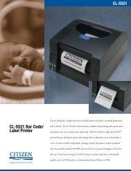 CL-S521 Bar Code/ Label Printer - Citizen