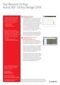 Top Reasons to Buy AutoCAD® Utility Design 2013 - Page 2