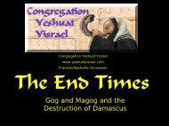 End Times 006.pdf - Congregation Yeshuat Yisrael