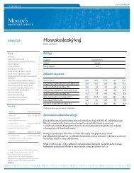 Rating kraje (formát PDF; velikost 326 kB) - Moravskoslezský kraj