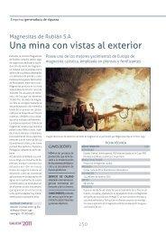 MAGNESITAS DE RUBIAN, S.A. - Ardan