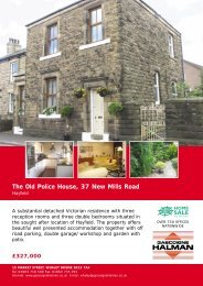 The Old Police House, 37 New Mills Road