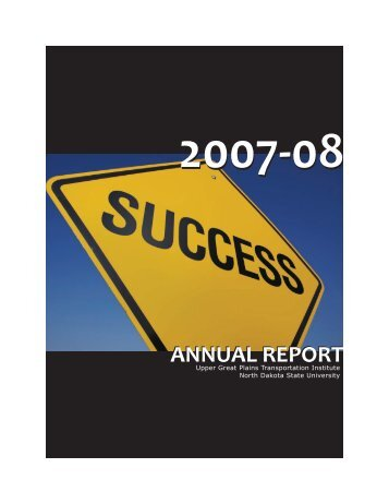 2007-08 UGPTI Annual Report - (UGPTI) - Home