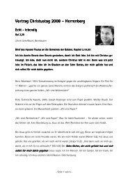 Ulrich Scheffbuch - Lebendige Gemeinde