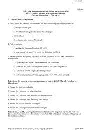 Anhang zu § 3 Abs. 6 der ordnungsbehördlichen Verordnung ... - ZLS