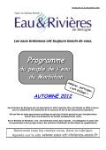 LETTRE D'INFORMATION - Eau et rivières de Bretagne - Page 2