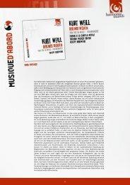 Berliner Requiem - Harmonia Mundi