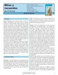 Guía Mitos y recuerdos - Alfaguara Infantil