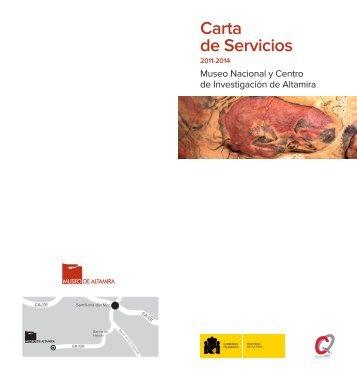 Descargar Carta de servicios (Adobe PDF) - Museo de Altamira