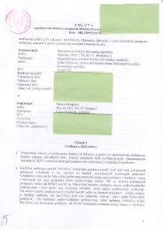 ZML U VA o poskytnutf doticie z rozpoitu Ministerstva iislo: MK-6899 ...