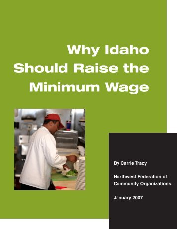 Why Idaho Should Raise the Minimum Wage - Alliance for a Just ...