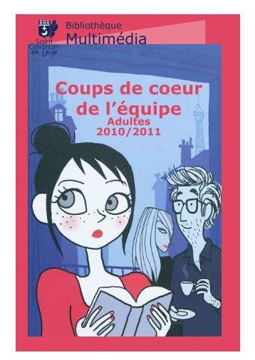 Coups de coeur de l'équipe - Bibliothèque - Saint Germain-en-Laye