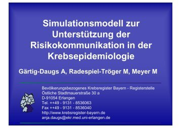 Simulationsmodell zur Unterstützung der Risikokommunikation in ...