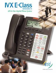 All-In-One Digital Phone System - NetComm Services, Inc.