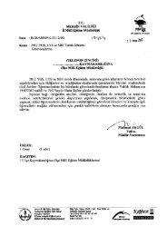 Yazı ve Onay - Mersin İl Milli Eğitim Müdürlüğü