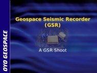 GSR 3-D shoot - Brenham, Texas 2008 (pdf)