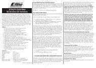 Instruction Sheet - Robot MarketPlace