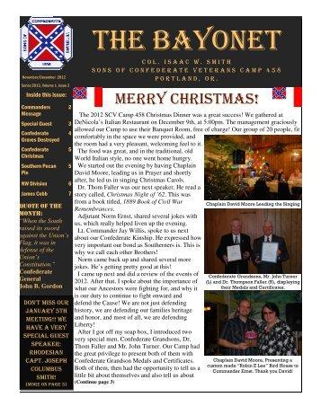 The Bayonet November/December 2012 - Scvportland.org