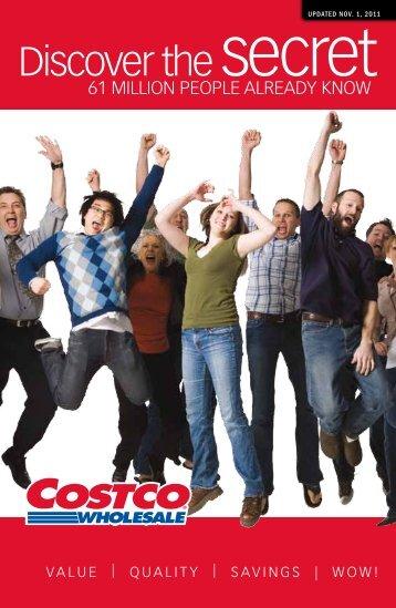 Discover the secret - Costco