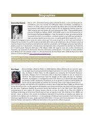 Biographies - Organisation internationale de la Francophonie