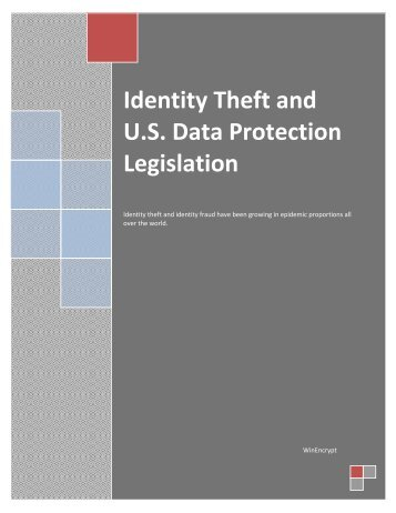 Identity Theft and U - WinEncrypt