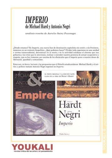 reseña de Imperio de Negri y Hardt - Youkali
