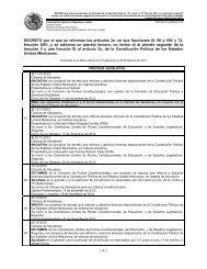 Proceso Legislativo - Cámara de Diputados