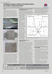 Kvalifikace postupu svařování lamelových pásnic pro ... - Hadyna