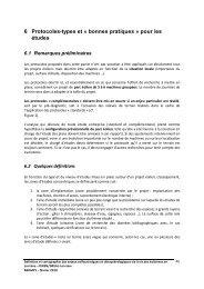 préconisations pour le choix de protocoles d ... - DREAL Lorraine