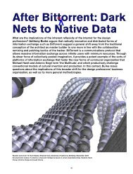 After Bittorrent: Dark Nets to Native Data - Eric Paulos