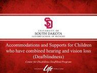 Powerpoint Slides - South Dakota Parent Connection