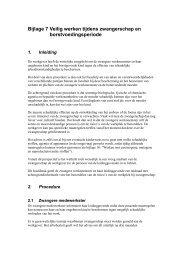 Bijlage 7 Veilig werken tijdens zwangerschap en ...
