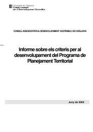 Report 2/2004 on the criteria for the - Generalitat de Catalunya