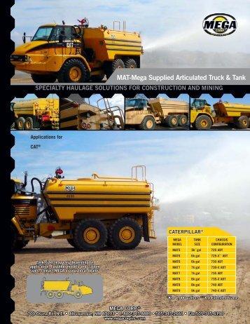 MAT-Mega Supplied Articulated Truck & Tank