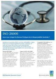 ISO 26000 - DNV Business Assurance
