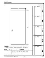 Sta-Tru® HD Steel Door (8'0 - Masonite
